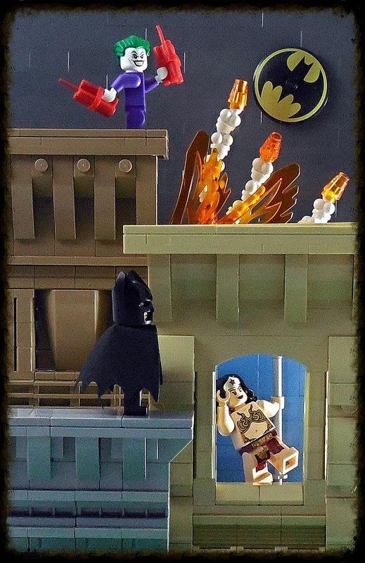 Bats Watching Over Gotham