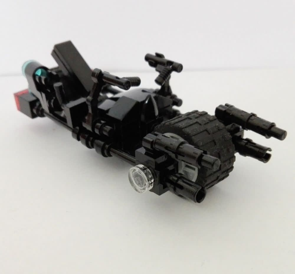 The Dark Rises:Bat Pod