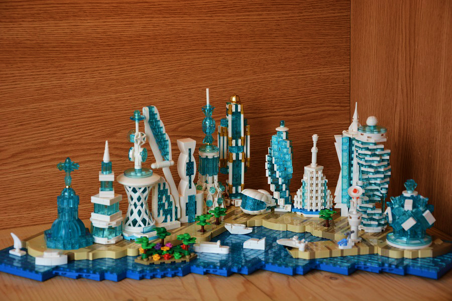 Concurs Microscale Future City – Creatia 10: The City on the Artificial Island