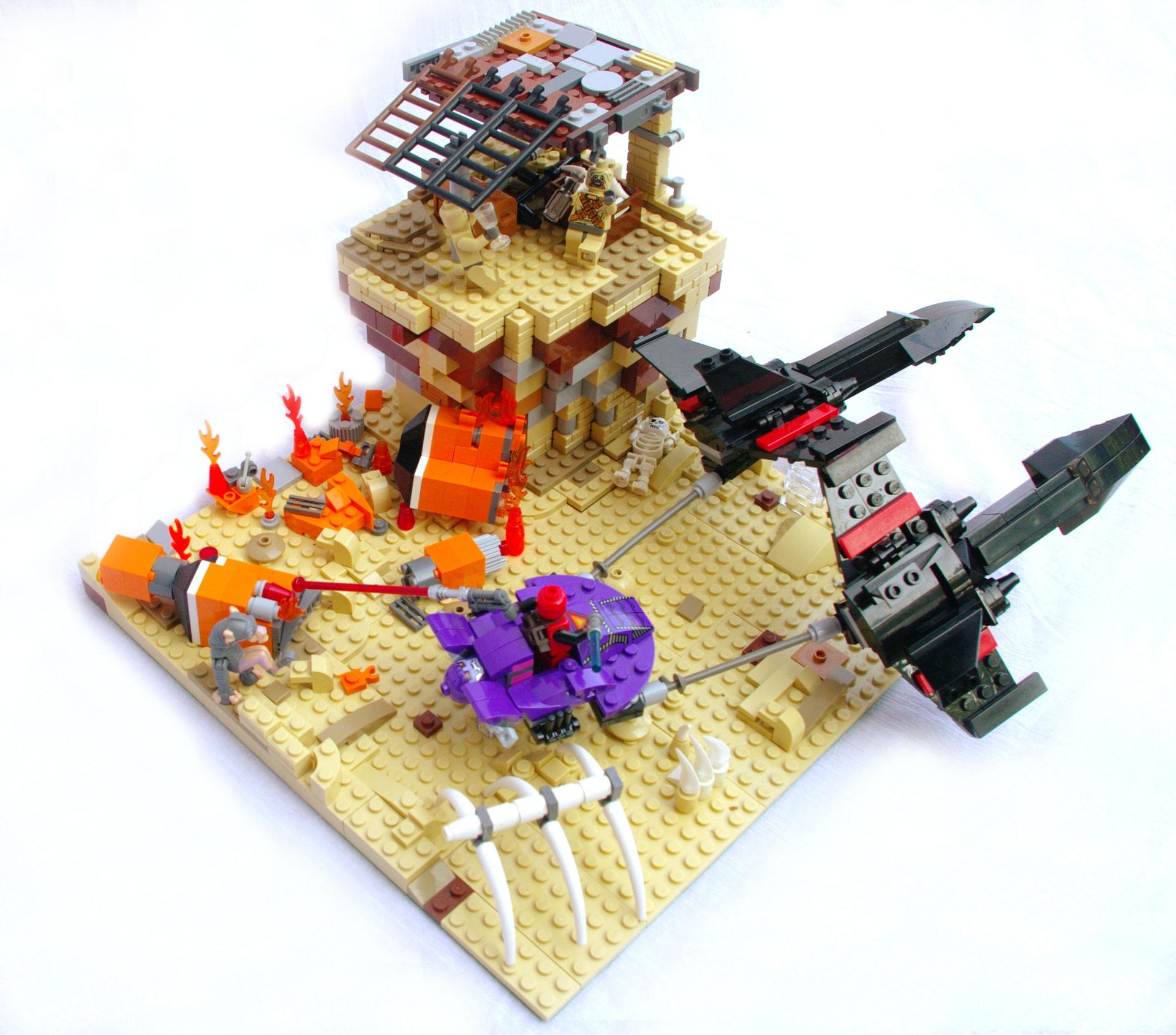 Concurs Star Heroes in Super Wars – Creatia 1 Standard: Podracing on Tatooine
