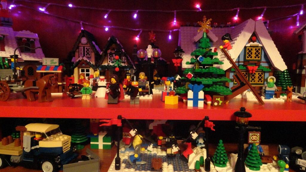Oraselul Lego de Craciun