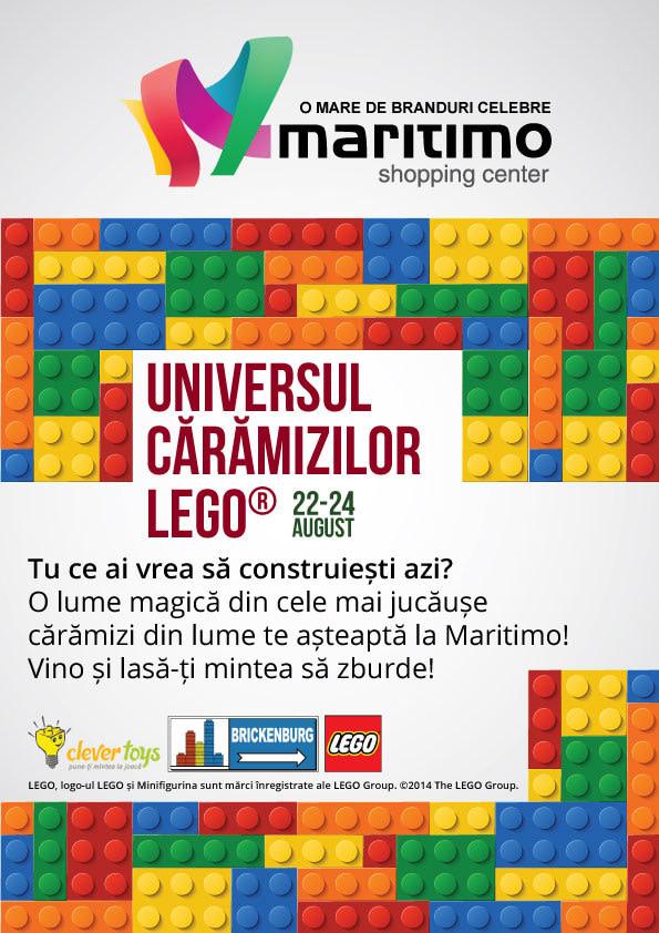 Universul Caramizilor LEGO – Expozitie Brickenburg