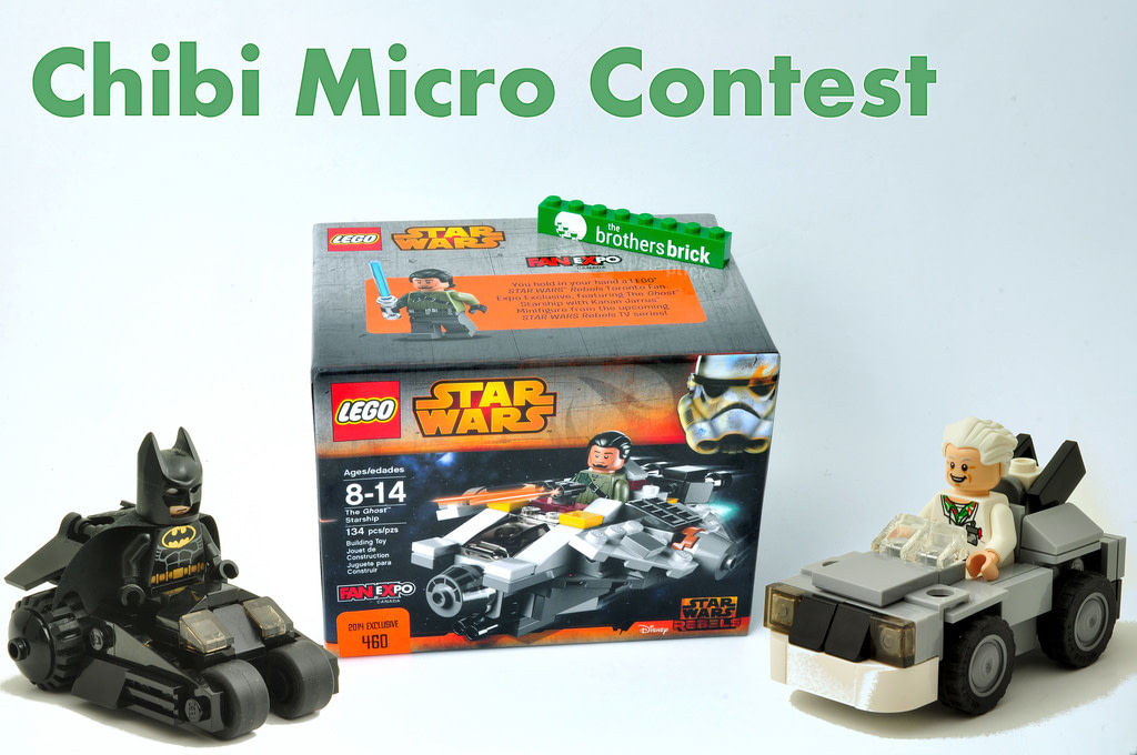 Concurs The Brothers Brick Micro Chibi