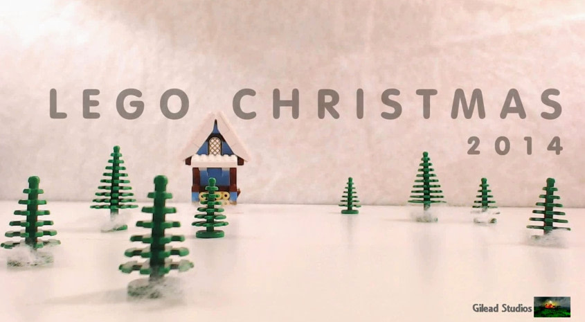 Craciunul in oraselul Lego