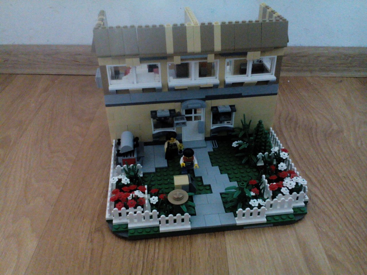 Family police house