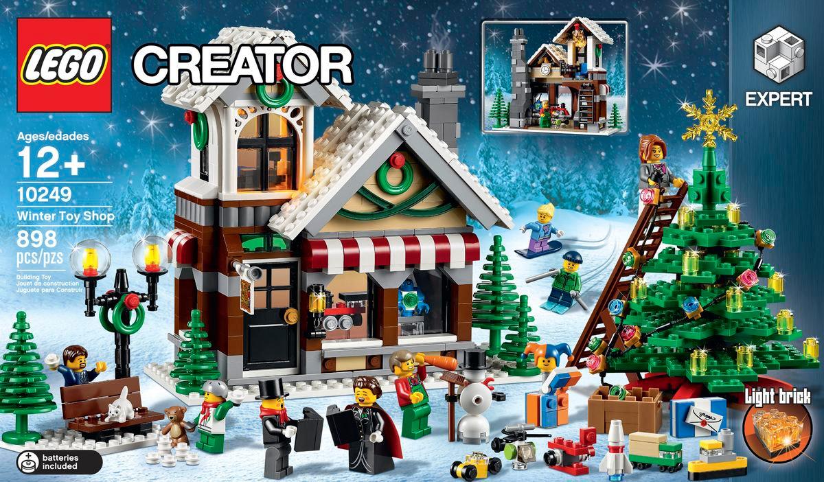 LEGO anunta noul set din seria Winter Village