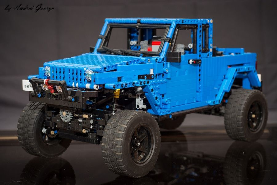 Jeep Wrangler JK Blue Pick-Up