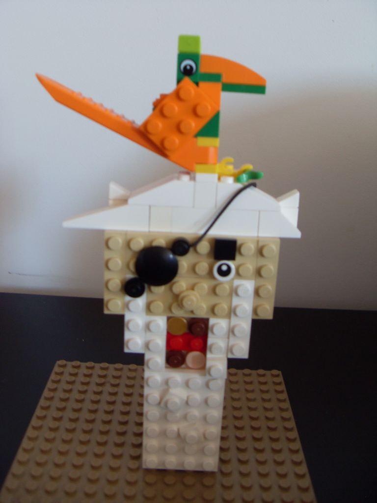 Concurs Imbinarea separatorului de caramizi – creatia 1: Pe cap de pirat