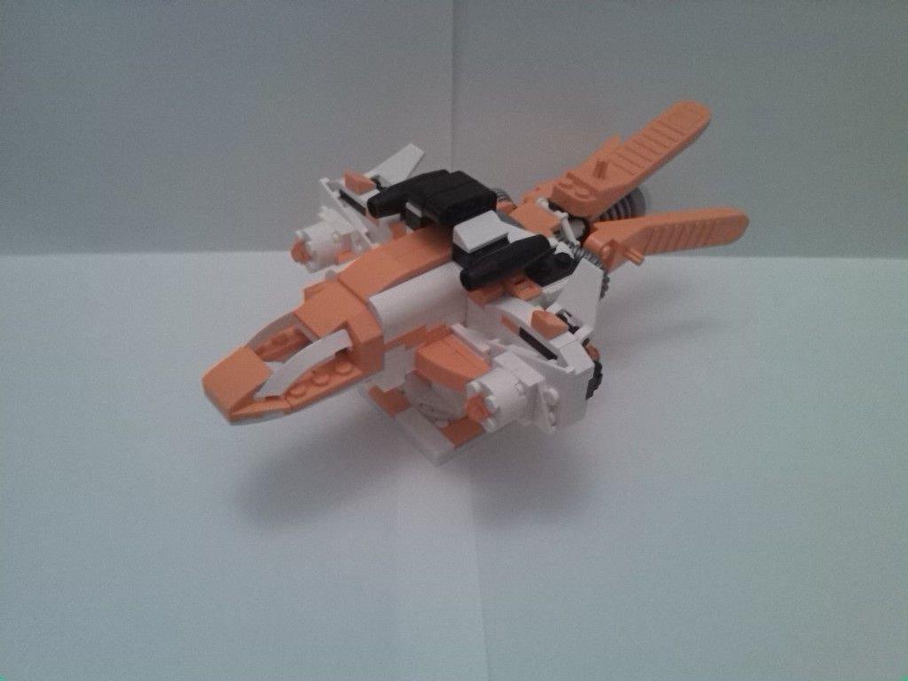 Concurs Imbinarea separatorului de caramizi – creatia 6: White Eagle