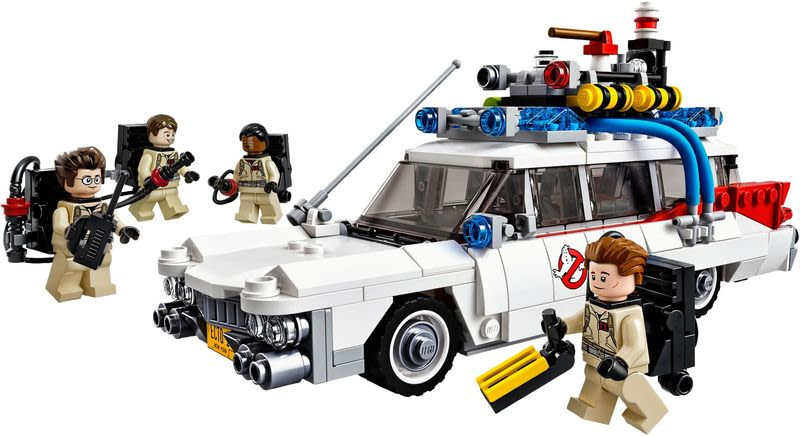 Review LEGO 21108 – Ghostbusters Ecto-1