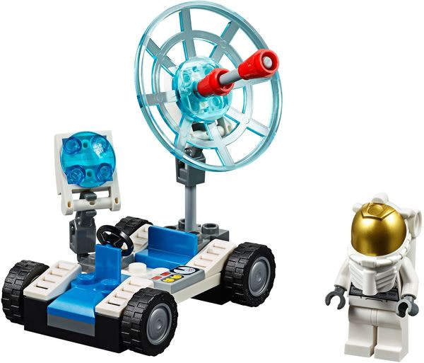 Review set LEGO Moon Buggy (6516 vs 30315)
