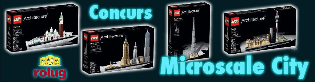 Concurs cu premii LEGO: Microscale City – regulament
