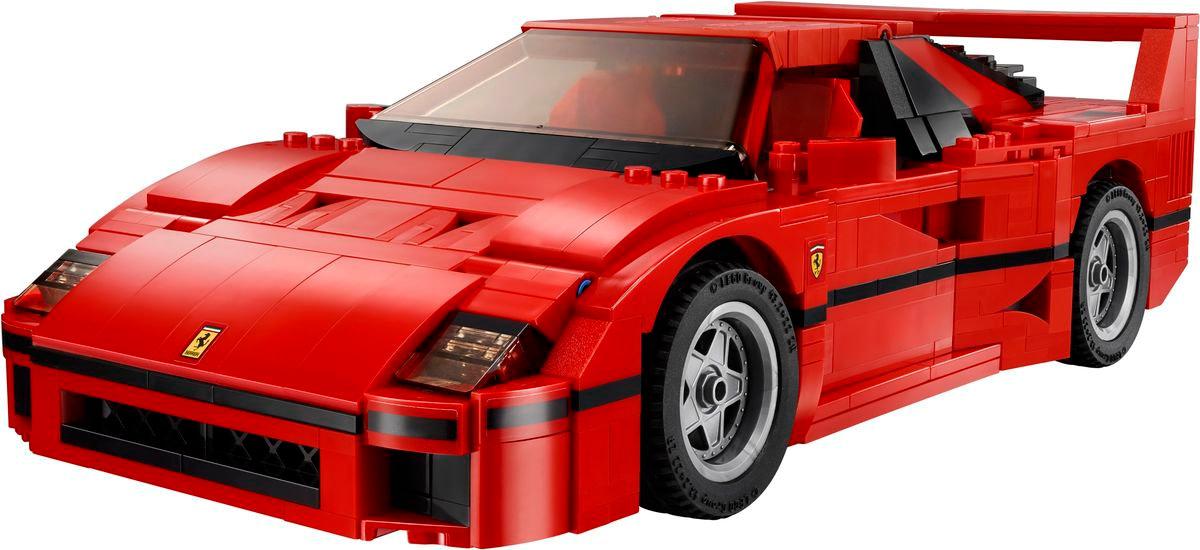 Review set LEGO 10248 – Ferrari F40
