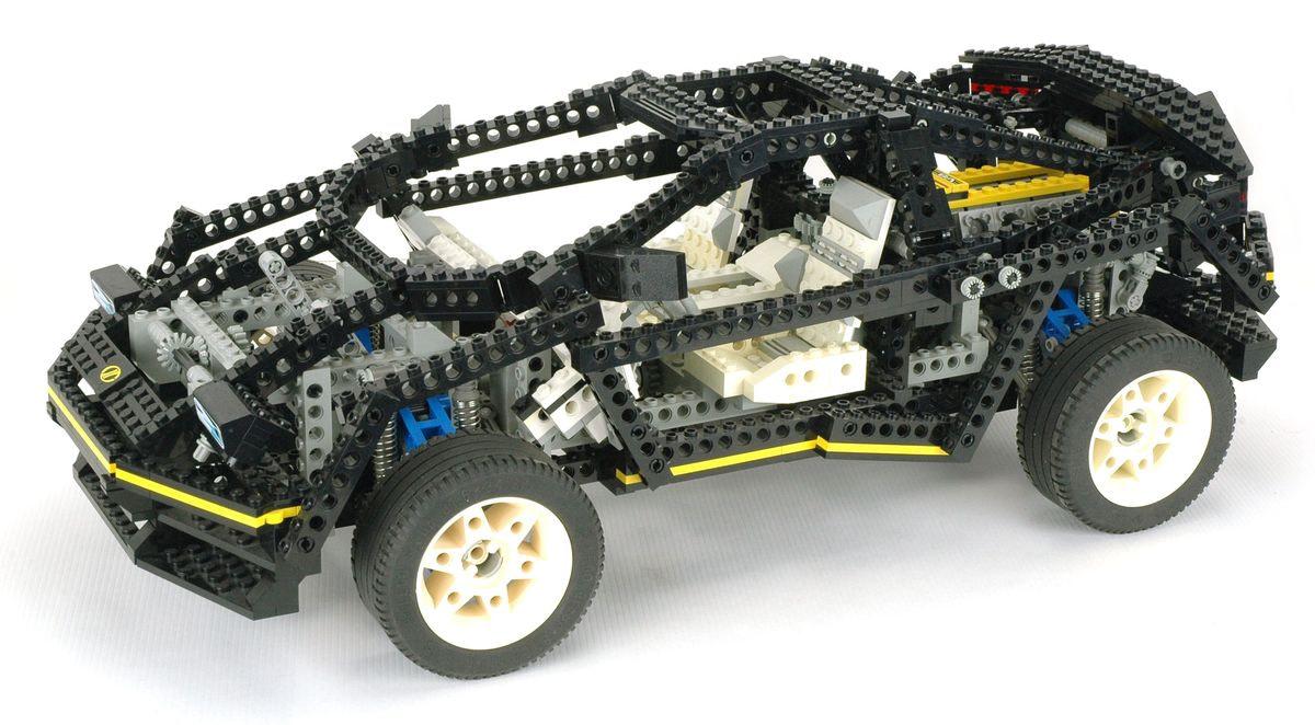 Review set LEGO 8880 – Super Car