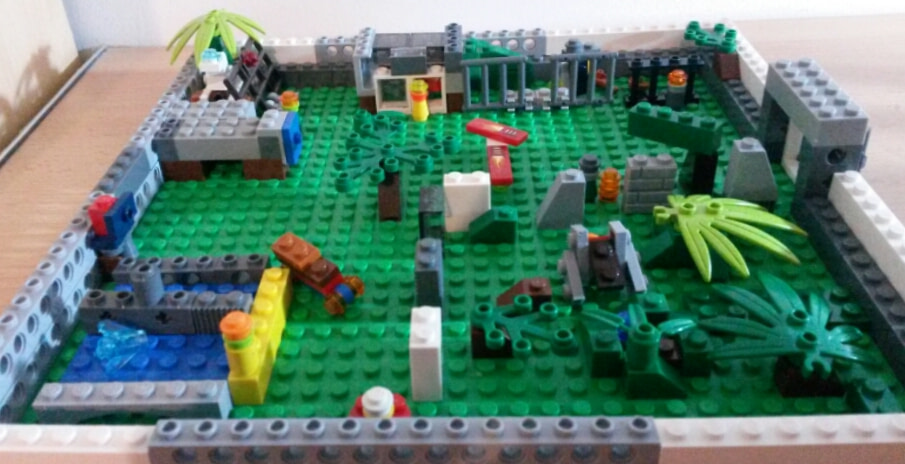 Concurs Microscale City: Creatia 10 – Jurassic World