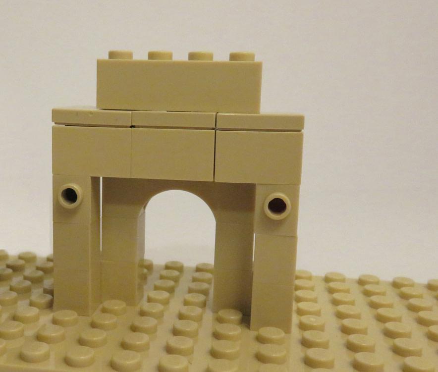 Concurs Microscale City: Creatia 18 – Mini-Arc de Triumf
