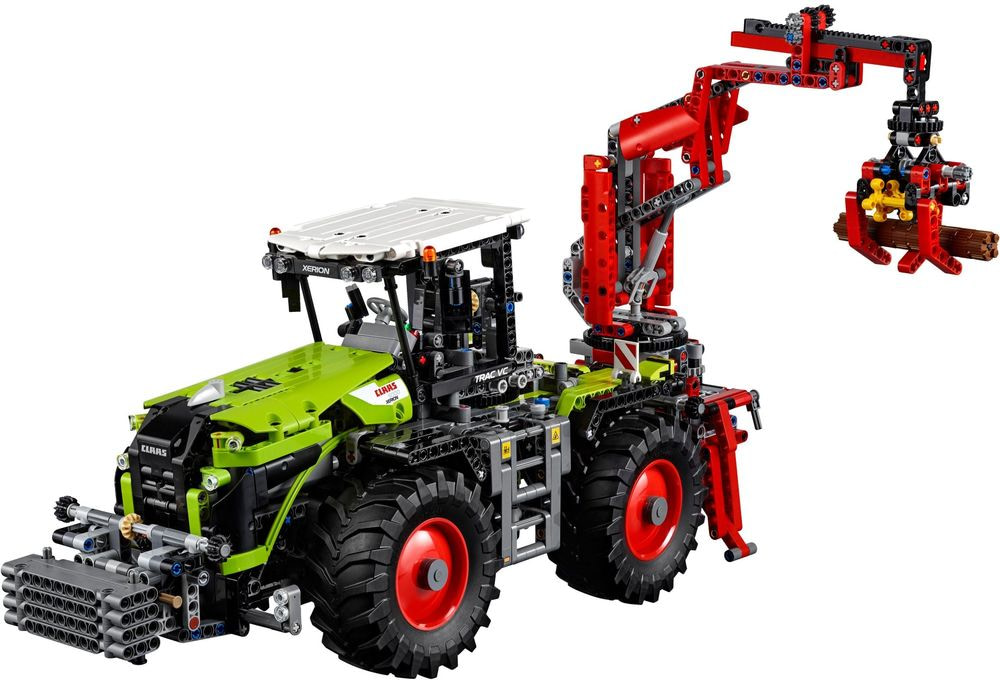 Review set LEGO 42054 – Claas Xerion