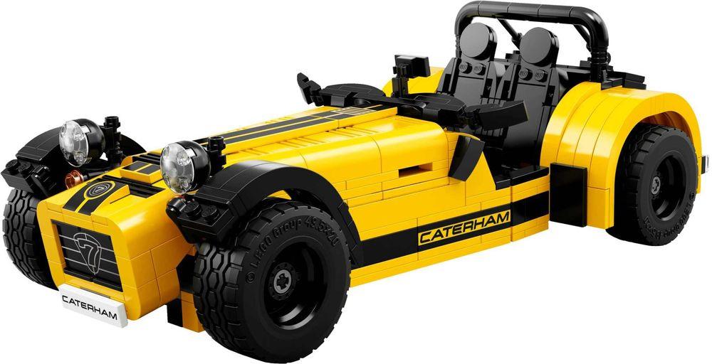 Review set LEGO 21307 – Caterham Seven 620R