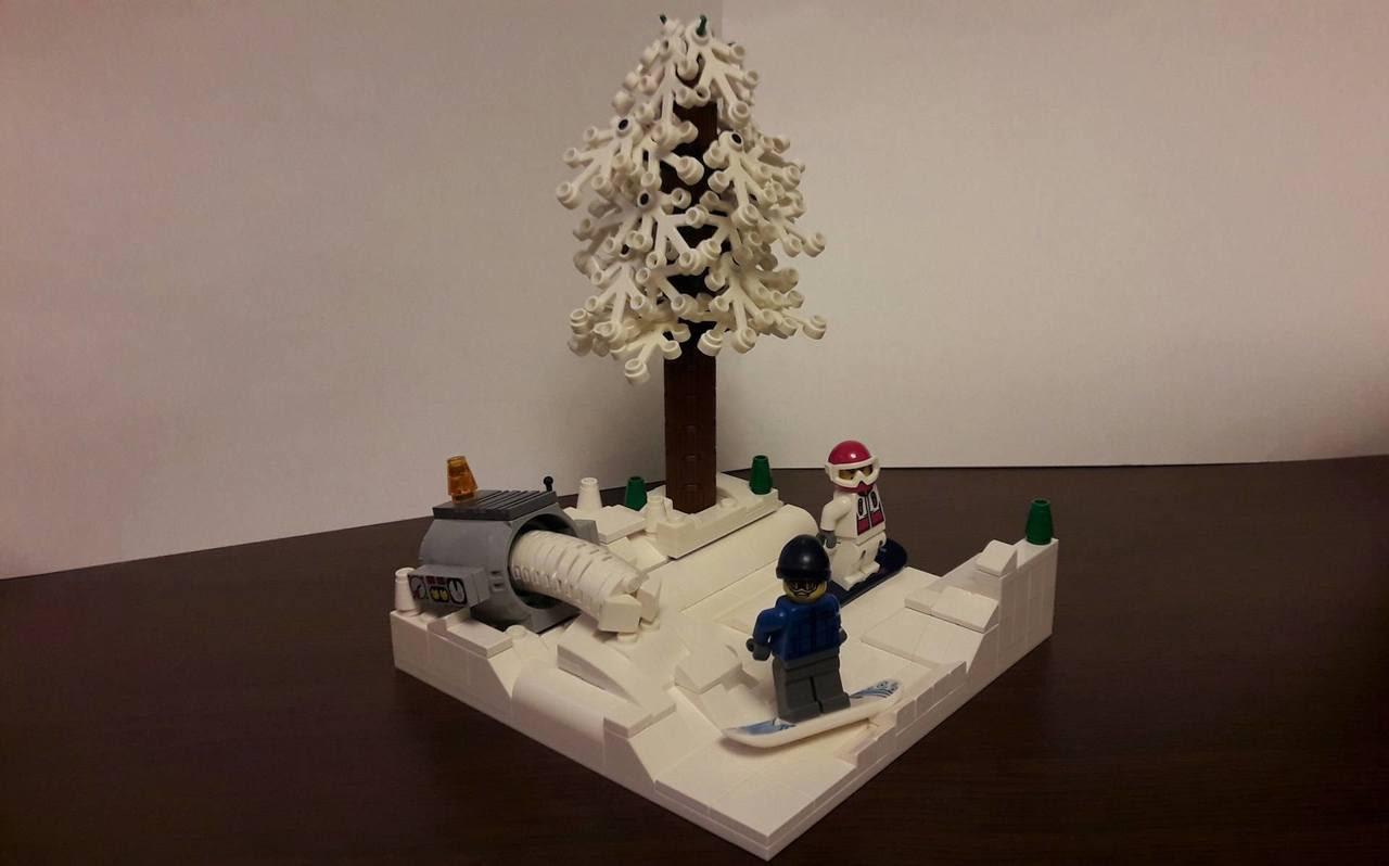 MOC-uiala fara fir – Firul 1 – Creatia 6: Snowboard
