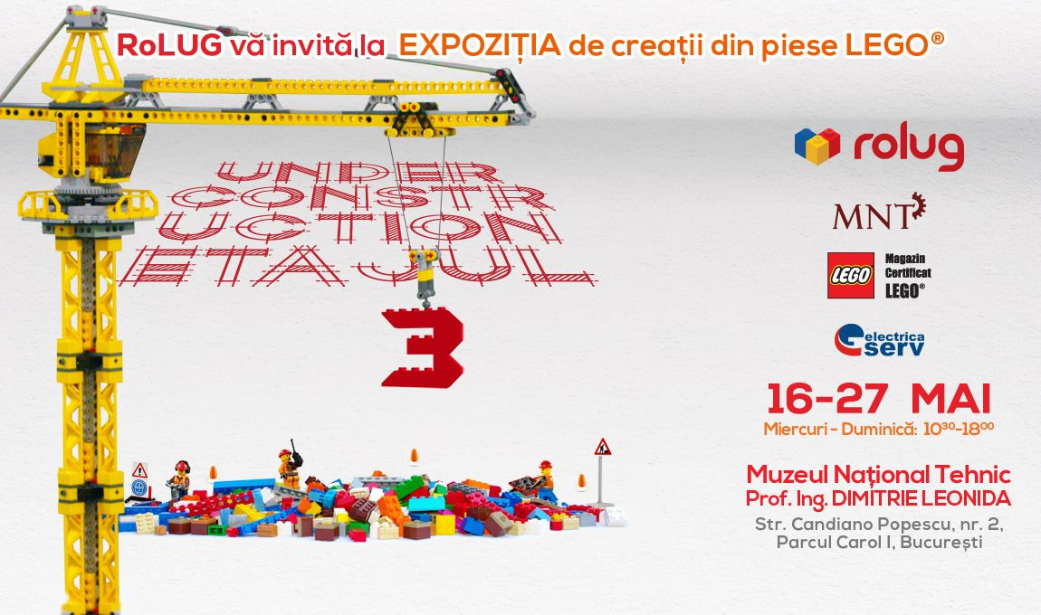 Expozitie RoLUG: Under Construction – Etajul 3