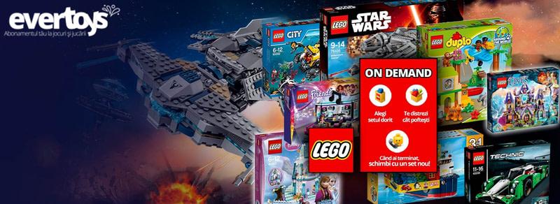 Evertoys – biblioteca de seturi LEGO® si alte jucarii